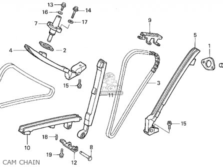 CHAIN GUIDE,FRONT