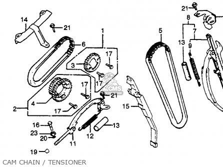 Pltensioner Set For Cb750k 750 Four K 1979 Z Usa