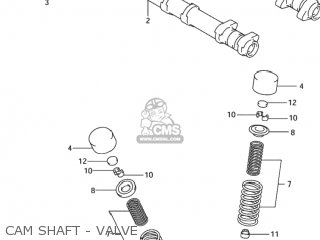 Camshaft, Intake photo