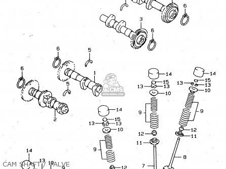 Camshaft Assy, Intake Rr photo