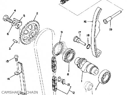 Shaft, Chain Tensioner photo