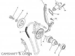 Tensioner Assy, Cam Chain photo