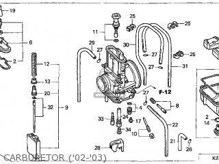 (16100-KZ3-L32) CARBURETOR assembly
