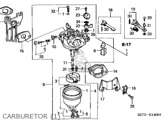 (16100-Z0T-831) CARBURETOR assembly