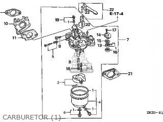 (16100-ZE2-W21) CARBURETOR Assembly
