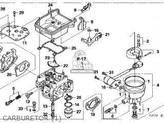 (16100-Z2E-824) CARBURETOR assembly(S