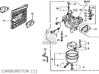 (16100-Z1E-V23) CARBURETOR assembly