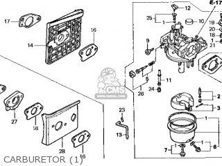 (16100-Z1E-V43) CARBURETOR assembly