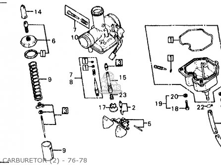 Keihin Pd Carburetor Diagram