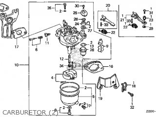 (16100ZE0816) CARBURETOR Assembly