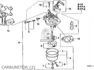 CARBURETOR assembly (