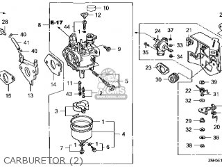 (16100-Z5H-V02) CARBURETOR assembly (