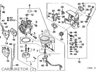 (16100-Z5R-V41) CARBURETOR assembly (