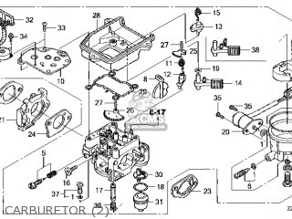 (16100-Z2E-804) CARBURETOR assembly(S