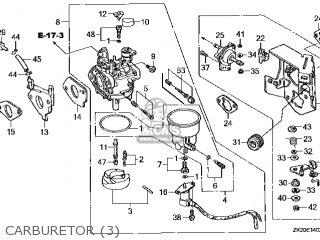 (16100-ZE2-D02) CARBURETOR assembly(S