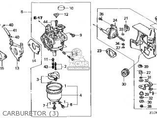(16100-Z1D-V02) CARBURETOR assembly