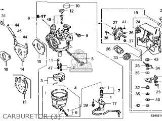 (16100-Z5J-V13) CARBURETOR assembly (