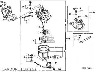 (16100-ZE3-L63) CARBURETOR assembly(S