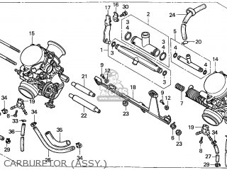 (16100-MY5-S00) CARBURETOR assembly
