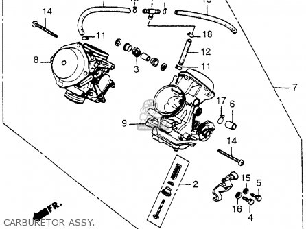 (16100MF5672) CARBURETOR Assembly