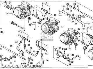 (16100-MBW-732) CARBURETOR assembly