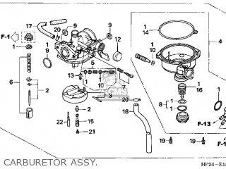 (16100-HP2-672) CARBURETOR assembly