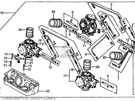 Carburetor Assy For Vf750s Sabre 1982 C Usa