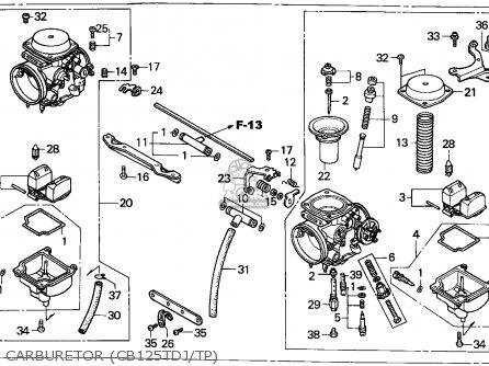 (16100-KC1-733) CARBURETOR Assembly