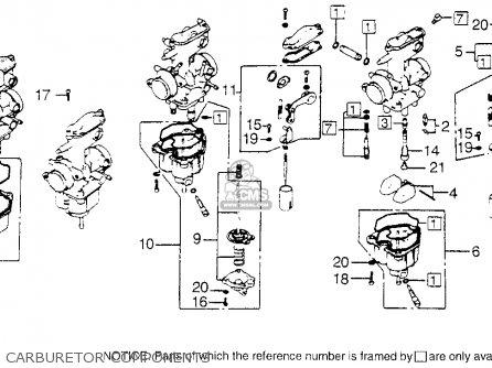(16015-KN4-A10) CHAMBER SET,FLOAT