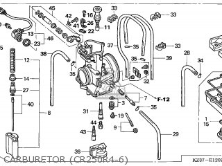 (16100-KSK-734) CARBURETOR assembly