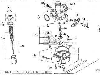 (16100-KN4-A62) CARBURETOR assembly