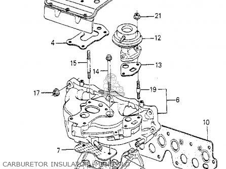 Honda Accord 1987 H 4dr Dx Ka Carburetor Schematic Partsfiche
