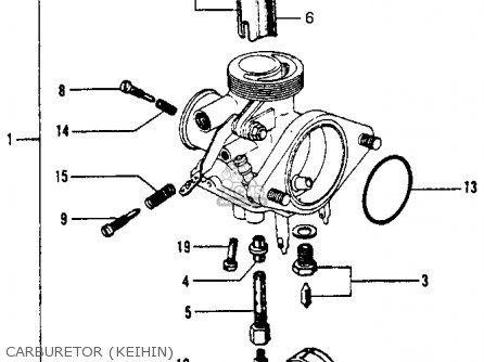 Old Keihin Carburetor Diagram on chinese atv wiring schematic