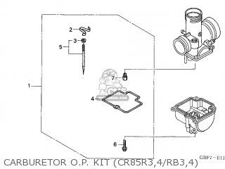 PARTS KIT, CARBURETOR OPTIONAL (JDM)