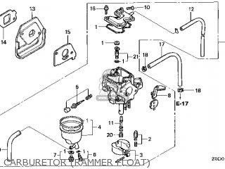 (16100-Z0D-V23) CARBURETOR assembly
