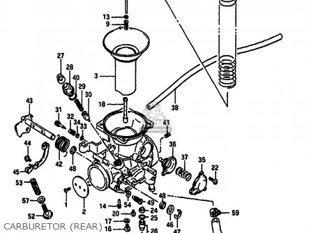 Carburetor Assy, Rear photo