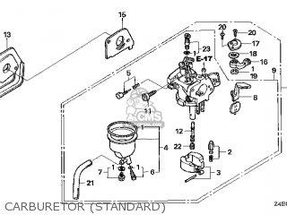 (16100-Z4E-023) CARBURETOR assembly (