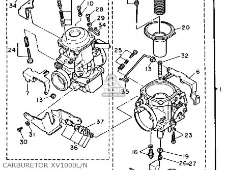 Yamaha 9 Carburetor Diagram
