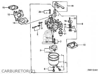 (16100ZE2814) CARBURETOR assembly,(