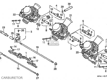 CARB assembly,(SERVIC