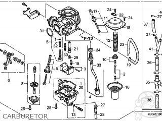 CARBURETOR Assembly  (VE37U A) (JDM)