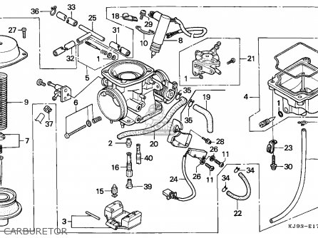 (16100-KJ9-305) CARBURETOR Assembly