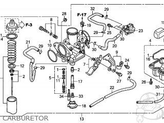 (16100-HM8-B61) CARBURETOR assembly