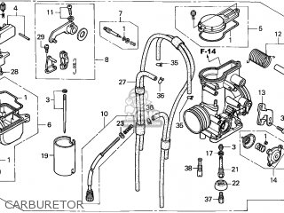 (16100-MBN-642) CARBURETOR assembly