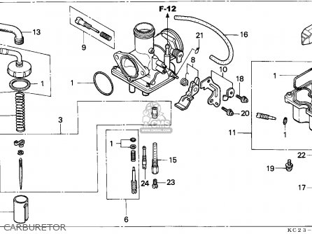 (16100KC2044) CARBURETOR assembly