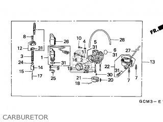 carburetor assy fits szx50s x8r 1998 w switzerland t13 order at rh cmsnl com Honda Motorcycle Wiring Color Codes Honda Civic Diagram