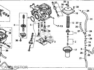 (16100-KEN-671) CARBURETOR assembly