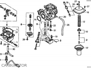 (16100-KEN-781) CARBURETOR assembly