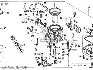 (16100-MFC-744) CARBURETOR assembly