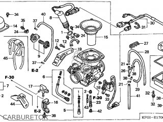 (16100-KFG-D12) CARBURETOR assembly